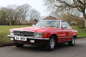 Mercedes 380SL Auto 1983 - To be auctioned 24-04-20