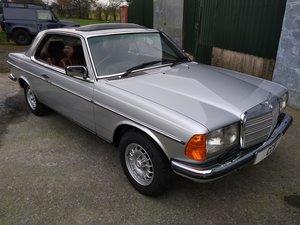 Mercedes 230CE Coupe 2.3 Litre – 1982Y