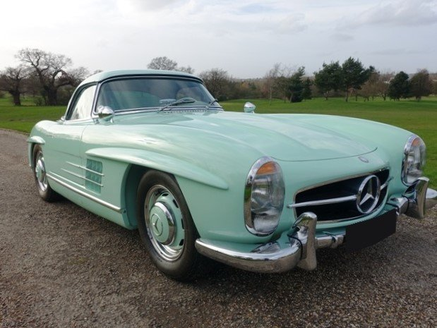 1963 Mercedes Benz 300 SL Roadster For Sale (picture 1 of 6)