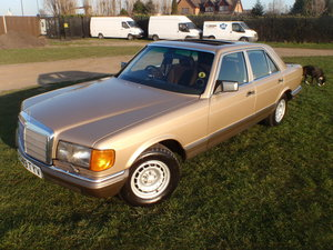 1984 MERCEDES 280SE W126, low miles/owners great spec. For Sale