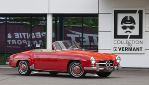 1957 Mercedes 190SL in Untouched original condition!!