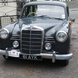1959 Mercedes Ponton V Rare RHD Diesel
