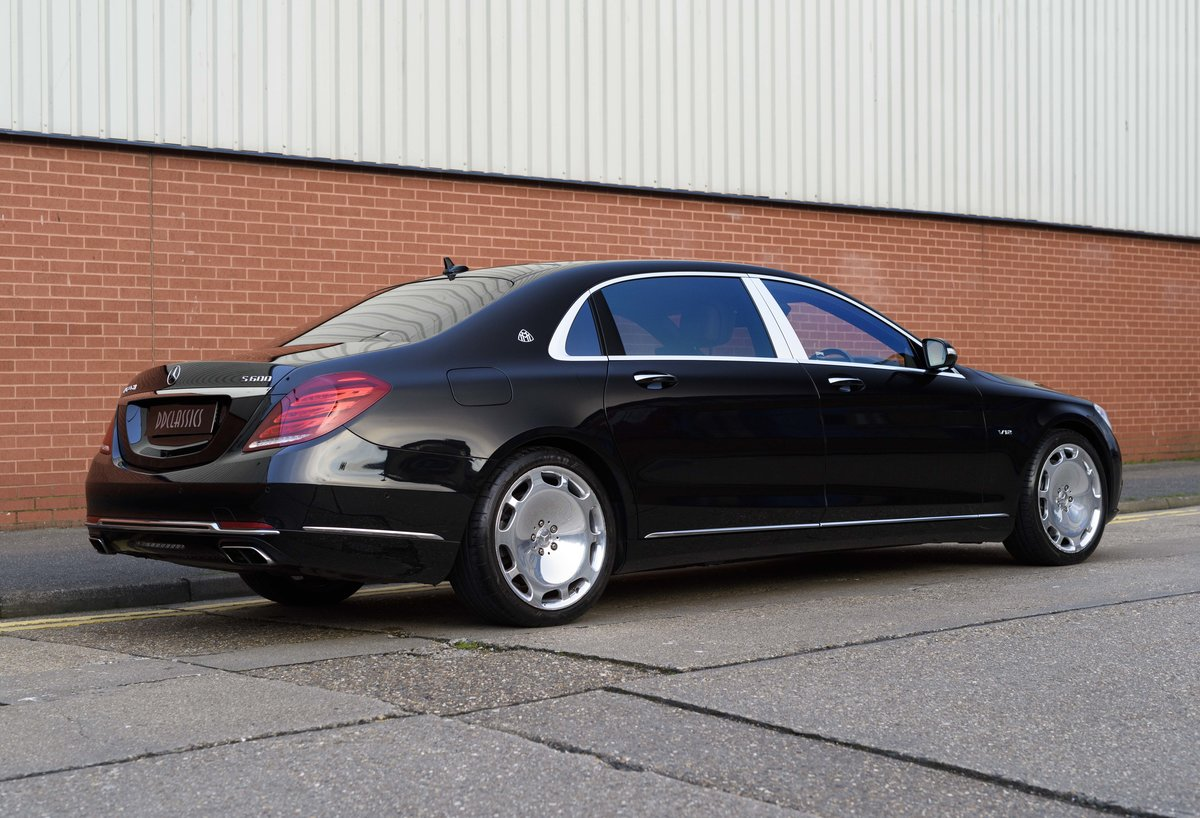 2015 Mercedes-Benz S600 Maybach (RHD) For Sale (picture 3 of 24)
