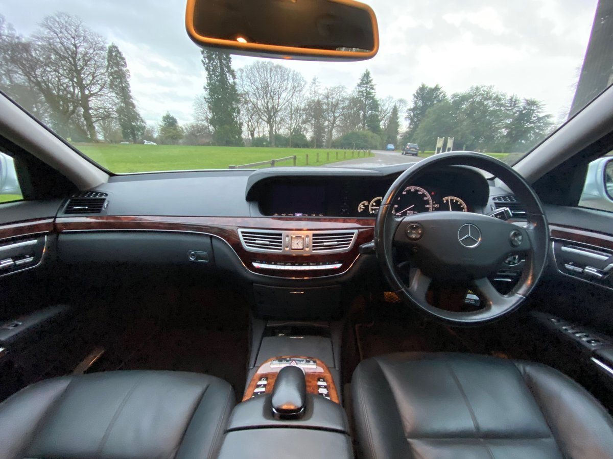 2008 Mercedes-Benz S Class 3.0 S320 CDI 7G-Tronic 4dr 8 For Sale (picture 6 of 6)