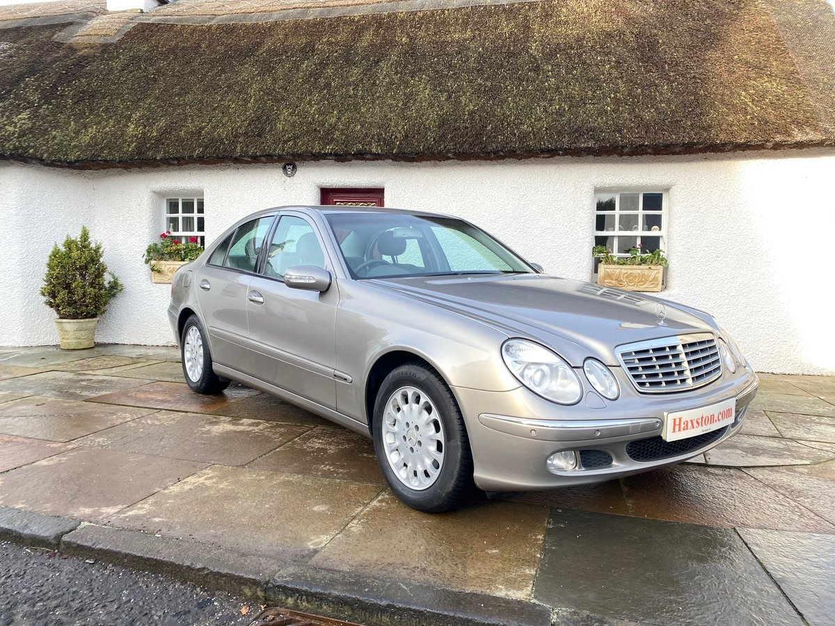 2003 Mercedes-benz e class 3.2 e320 elegance 4dr SOLD (picture 1 of 4)