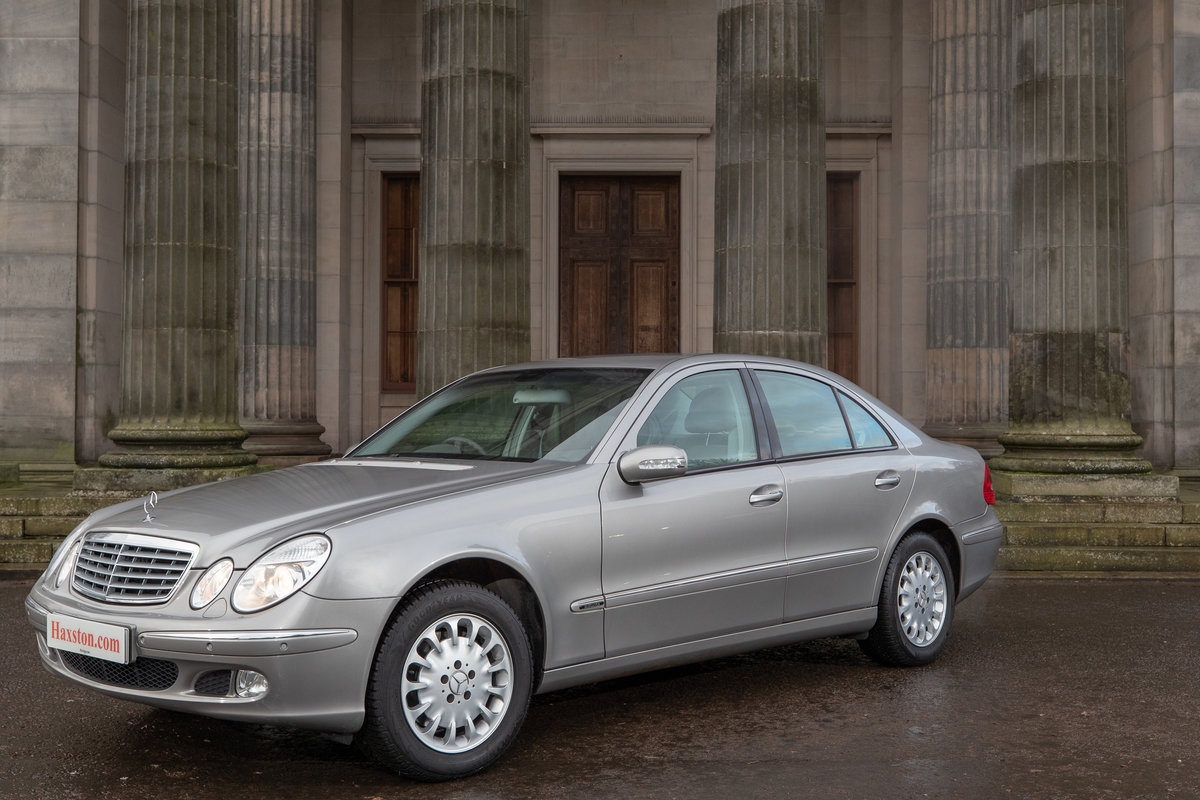 2003 Mercedes-benz e class 3.2 e320 elegance 4dr SOLD (picture 4 of 4)