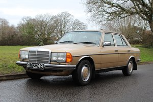 Mercedes 280E 1981 - To be auctioned  For Sale by Auction