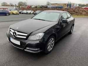 2013 Mercedes C220 CDi SE Executive Coupe.. Nice Hi-Spec Example