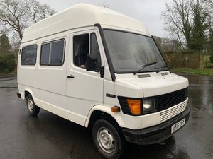 1995 Mercedes 208D Panel Van SOLD by Auction
