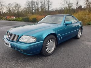 1997 Mercedes SL280 Auto SOLD by Auction