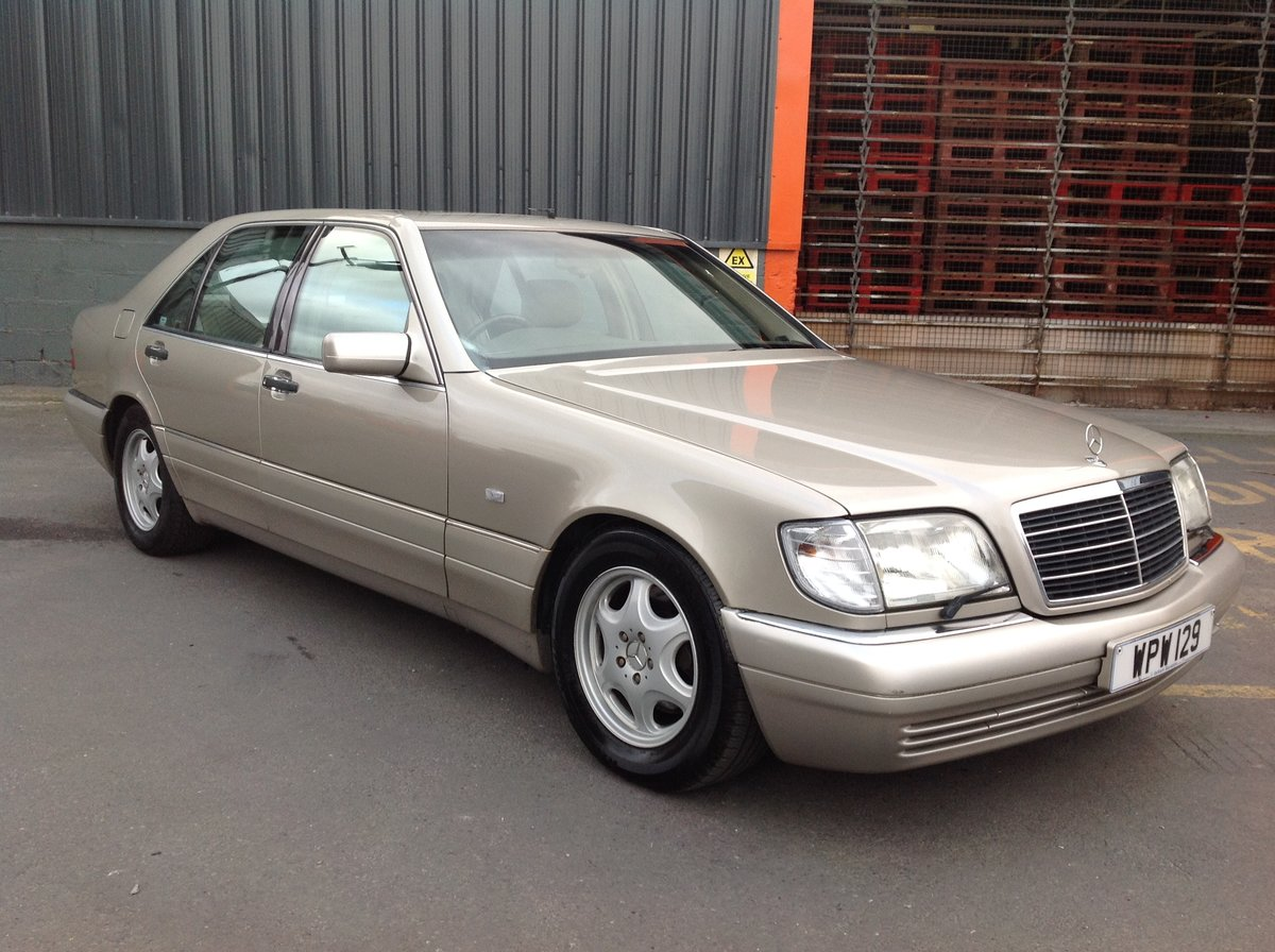 1996 MERCEDES S500 W140 LADY DIANA SHAPE, LAST OF THE BEST BUILT  For Sale (picture 1 of 6)