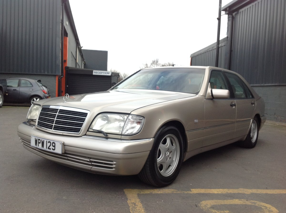 1996 MERCEDES S500 W140 LADY DIANA SHAPE, LAST OF THE BEST BUILT  For Sale (picture 2 of 6)