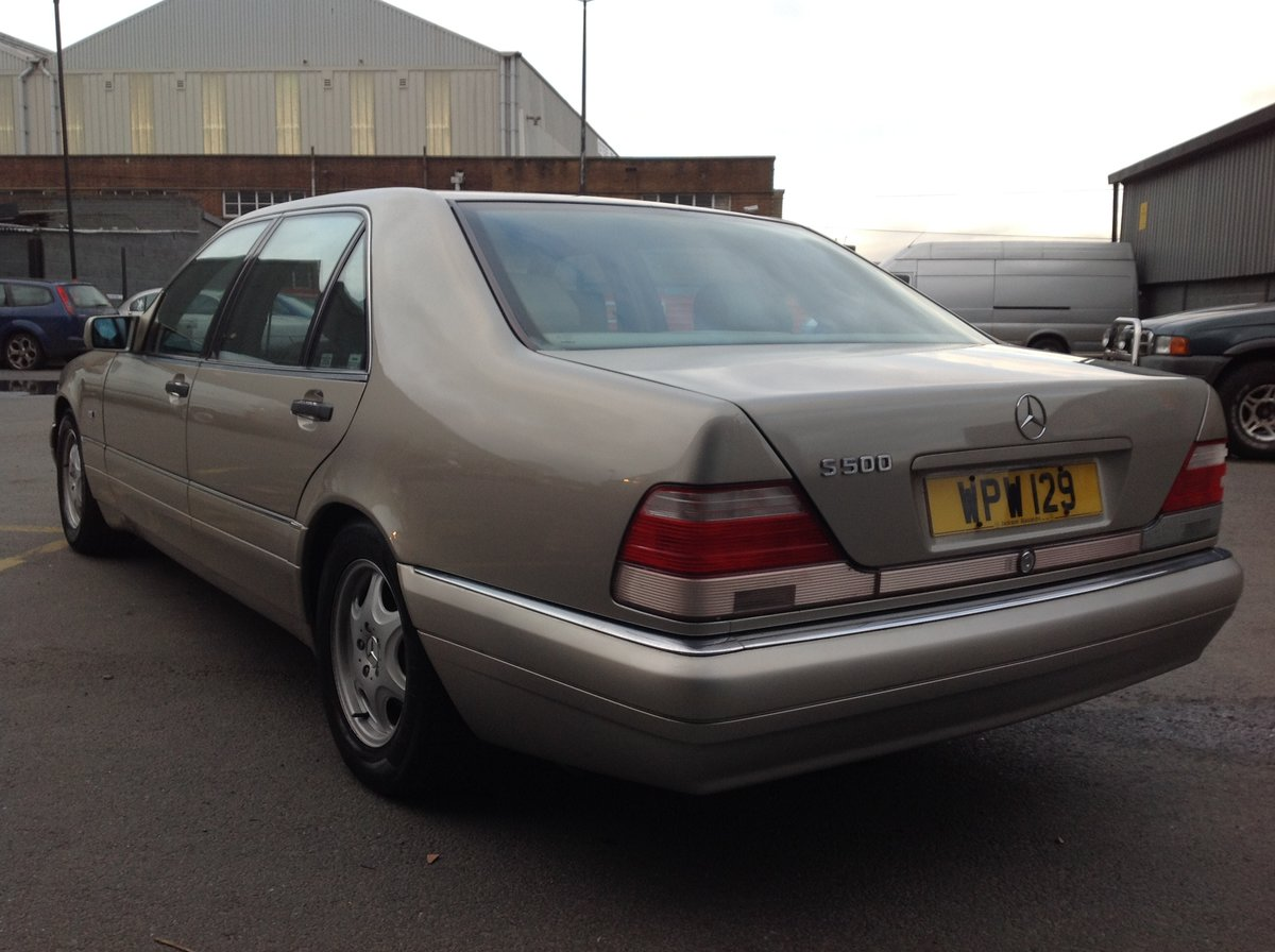 1996 MERCEDES S500 W140 LADY DIANA SHAPE, LAST OF THE BEST BUILT  For Sale (picture 3 of 6)
