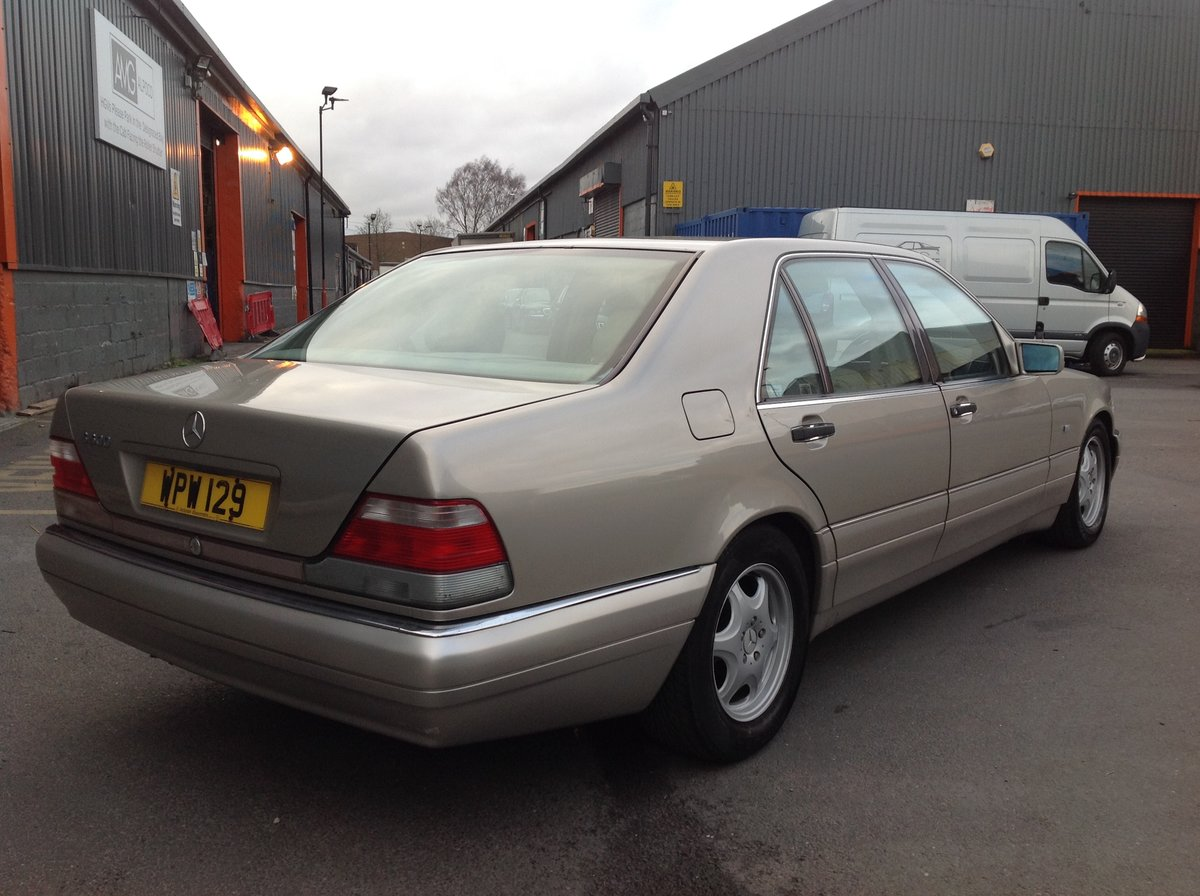 1996 MERCEDES S500 W140 LADY DIANA SHAPE, LAST OF THE BEST BUILT  For Sale (picture 4 of 6)
