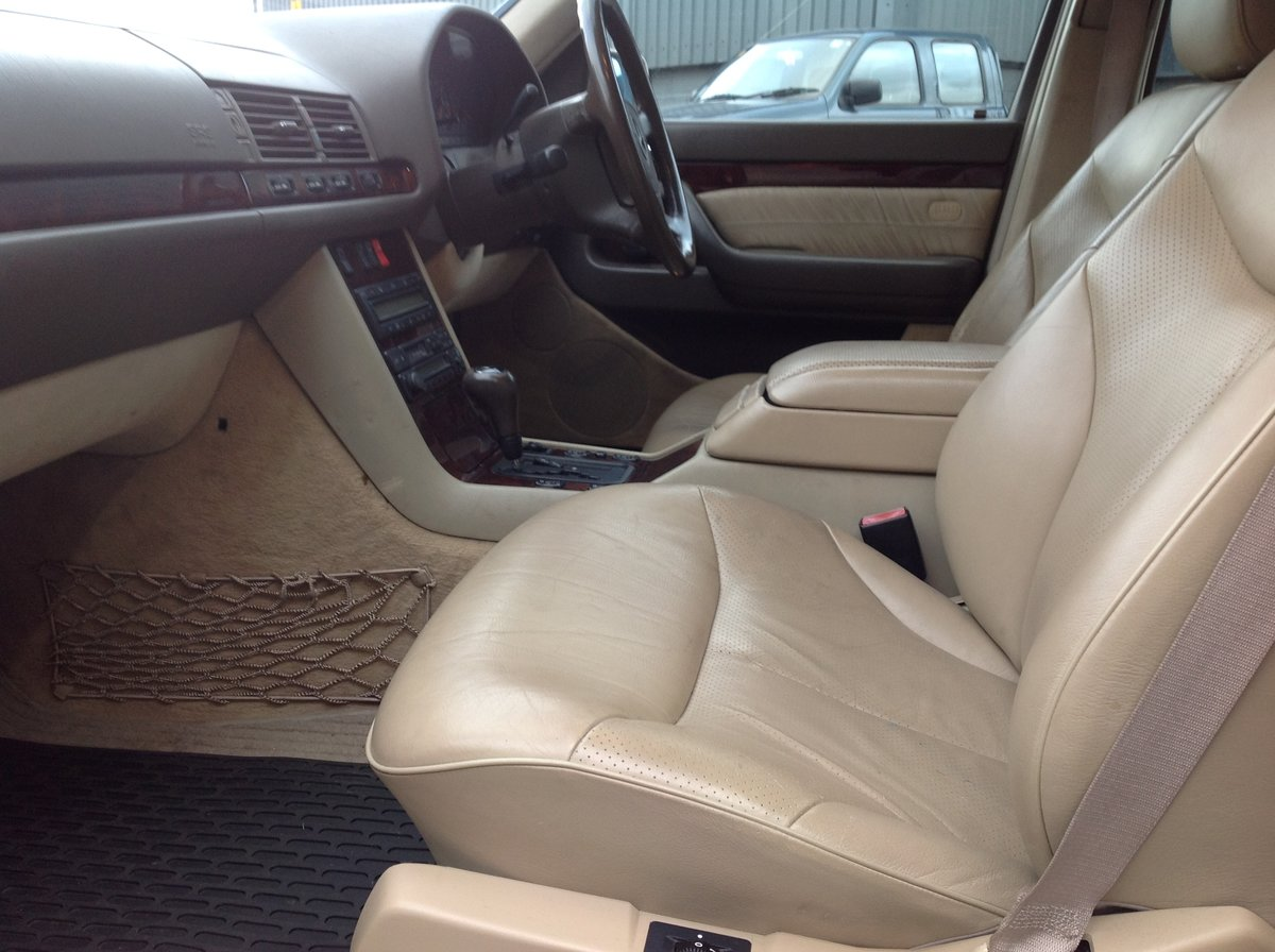 1996 MERCEDES S500 W140 LADY DIANA SHAPE, LAST OF THE BEST BUILT  For Sale (picture 5 of 6)