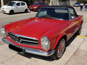 1970 Mercedes 280SL Pagoda Automatic  Restored