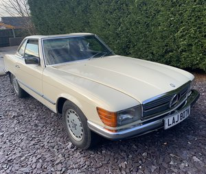1981 Mercedes 280sl convertible