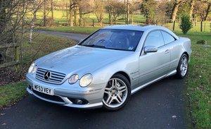 Mercedes cl 55 amg kompressor fsh, 62k,1owner