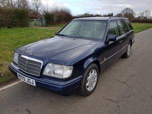1995 E Class Rare 7 seater estate