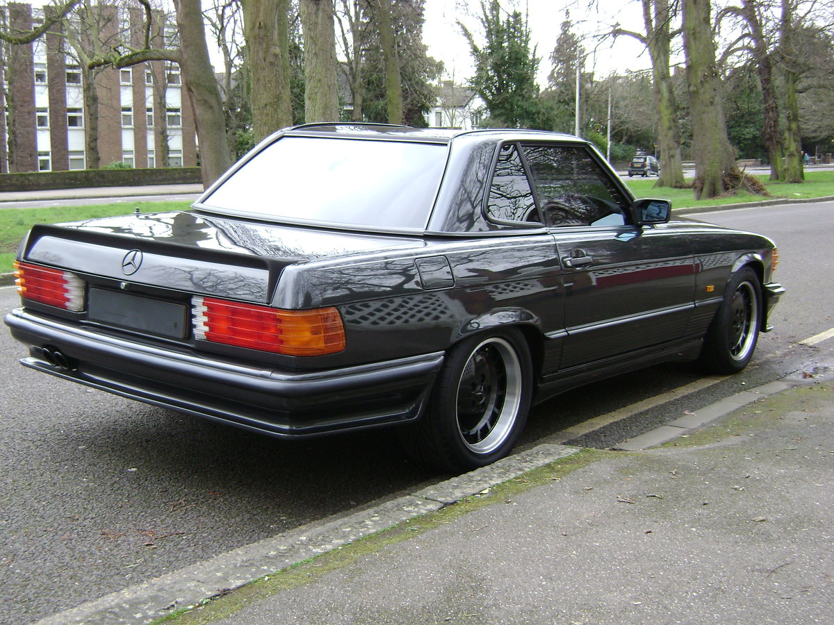 1986 Mercedes 500sl LORINSER For Sale (picture 3 of 6)