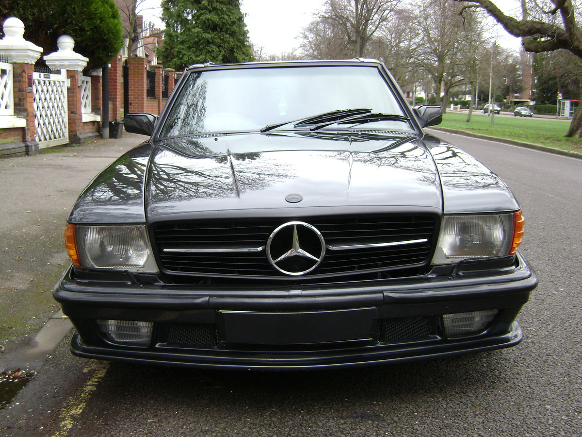 1986 Mercedes 500sl LORINSER For Sale (picture 4 of 6)