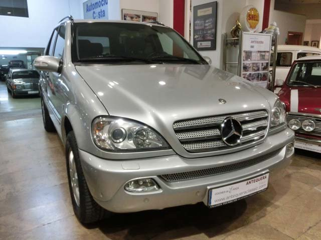 MERCEDES BENZ ML 270 CDI INSPIRATION W163 - 2004 For Sale (picture 1 of 6)
