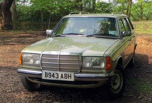 1985 Mercedes W123 280TE For Sale