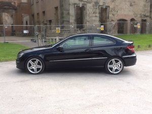 2008 Mercedes 180 Stunning Black Clc