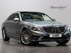 2016 16 66 MERCEDES BENZ S 350d AMG LINE PREMIUM PLUS AUTO For Sale