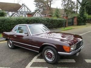 1972 MERCEDES 350 SL AUTO  ORIGINAL LAST OWNER 37 YEARS