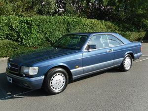 1992/J Mercedes 500 SEC C126 Coupe. FSH For Sale