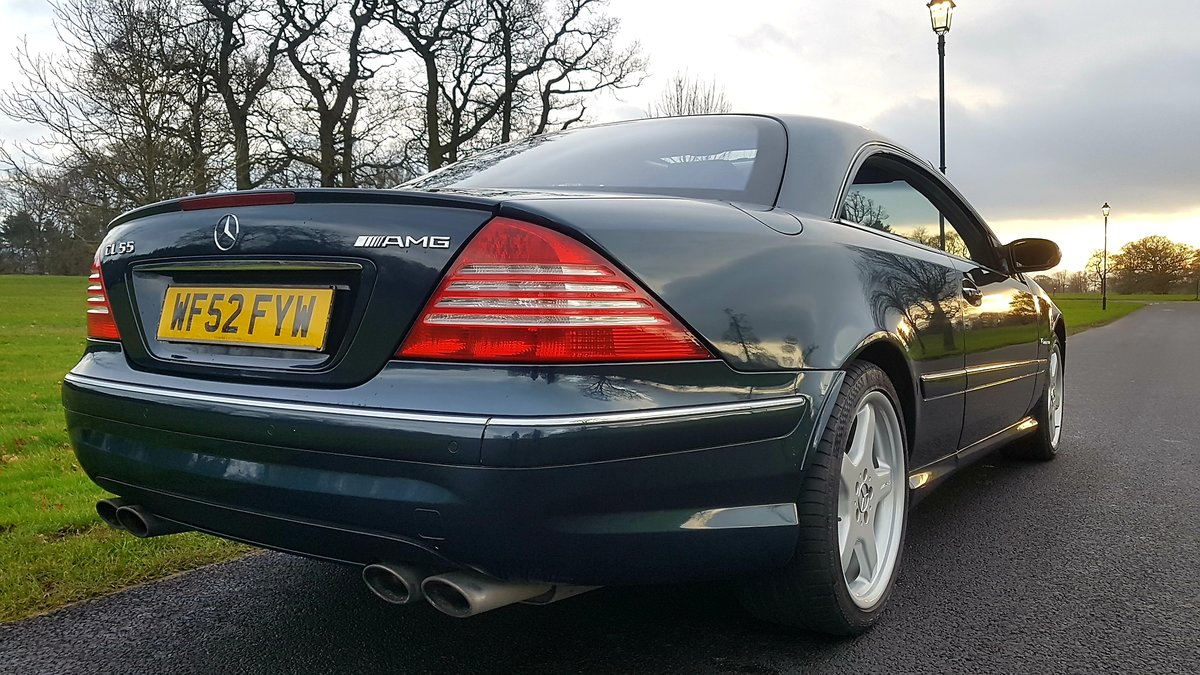 2003 Mercedes cl55 amg 5.4 kompressor 500bhp For Sale (picture 1 of 6)