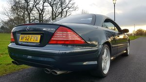 2003 Mercedes cl55 amg 5.4 kompressor 500bhp
