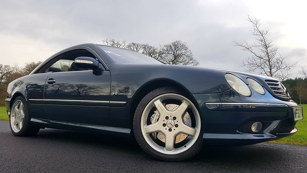 2003 Mercedes cl55 amg 5.4 kompressor 500bhp For Sale (picture 2 of 6)