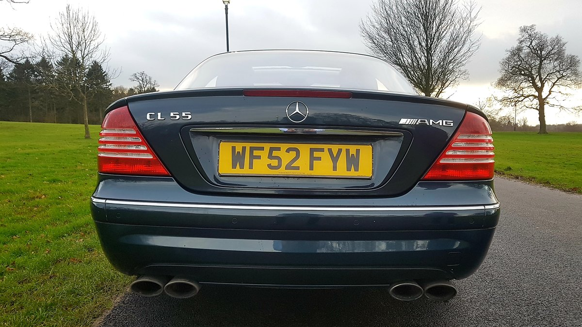 2003 Mercedes cl55 amg 5.4 kompressor 500bhp For Sale (picture 3 of 6)