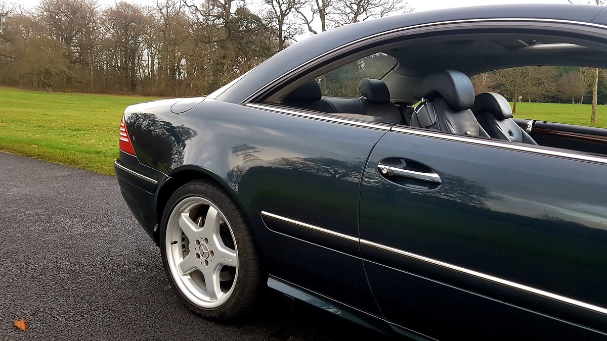 2003 Mercedes cl55 amg 5.4 kompressor 500bhp For Sale (picture 4 of 6)
