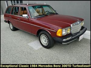 1984 Mercedes 300TD W123 Turbo-diesel 5 Door Wagon $17.9k