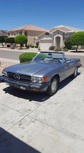 1987 Mercedes-Benz 560SL (Wittmann, AZ) $38,000 obo