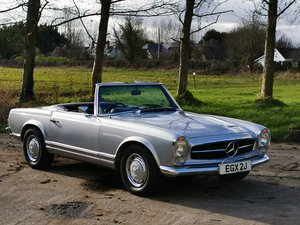 1970 Mercedes Pagoda, well cared for and ready to use.