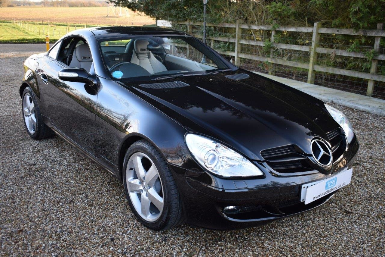 2007 Mercedes SLK280 V6 Auto SOLD (picture 1 of 6)