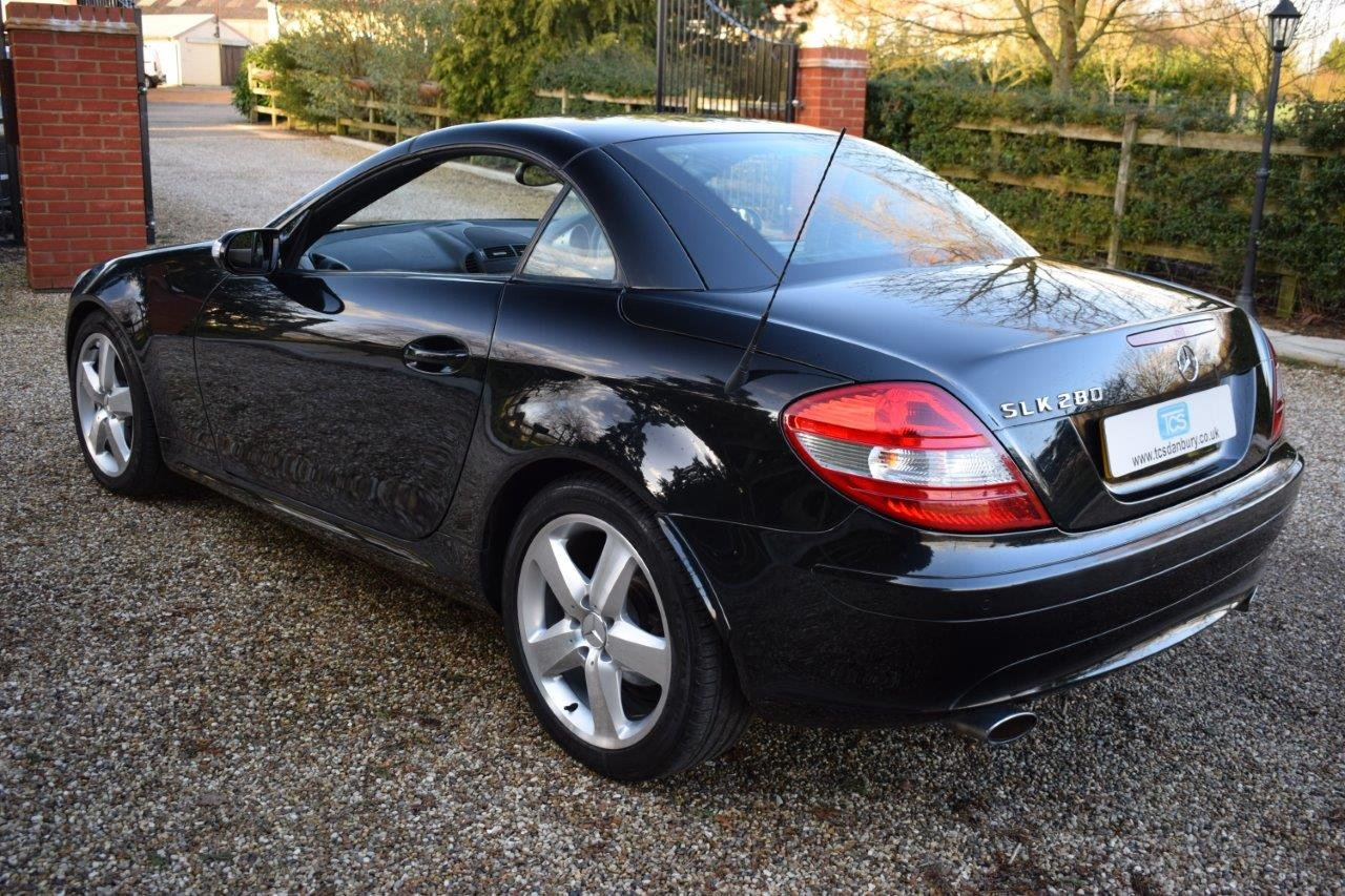 2007 Mercedes SLK280 V6 Auto SOLD (picture 2 of 6)
