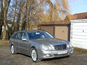 2006 Mercedes E320 CDI Sports 7G Estate 2 Former + FSH SOLD