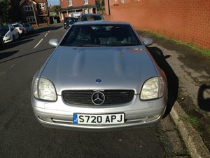 Mercedes SLK 230 Komp Auto 1998 - To be auctioned 26-06-20