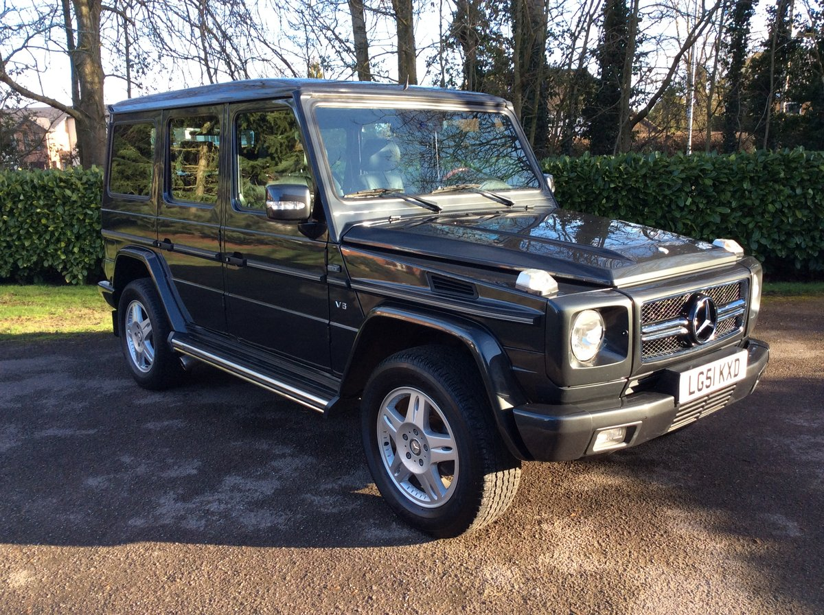 2001 Mercedes-Benz G500 LWB. Outstanding Examples Wanted For Sale (picture 1 of 6)