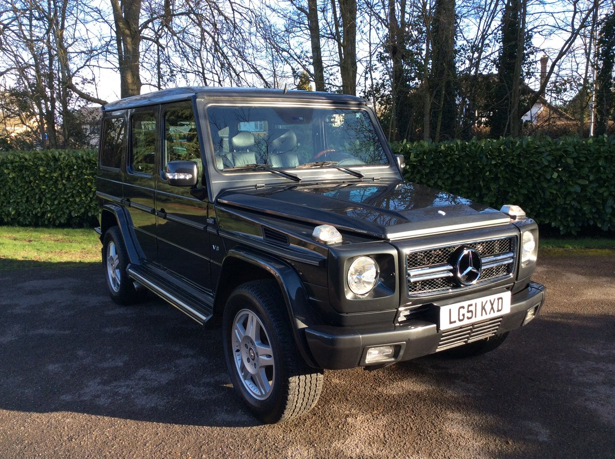 2001 Mercedes-Benz G500 LWB. Outstanding Examples Wanted For Sale (picture 2 of 6)