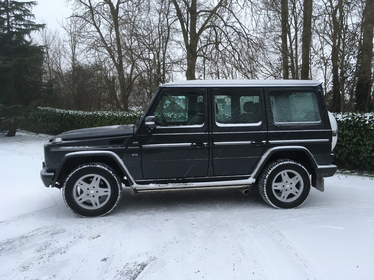 2001 Mercedes-Benz G500 LWB. Outstanding Examples Wanted For Sale (picture 4 of 6)
