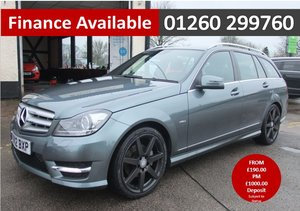2012 MERCEDES-BENZ C CLASS 1.8 C180 BLUEEFFICIENCY SPORT 5DR AUTO