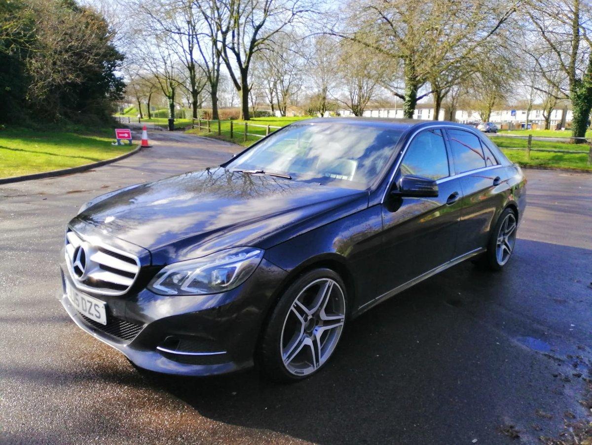 2015 Mercedes e220 cdi se w212 face lift bluetec For Sale (picture 1 of 6)