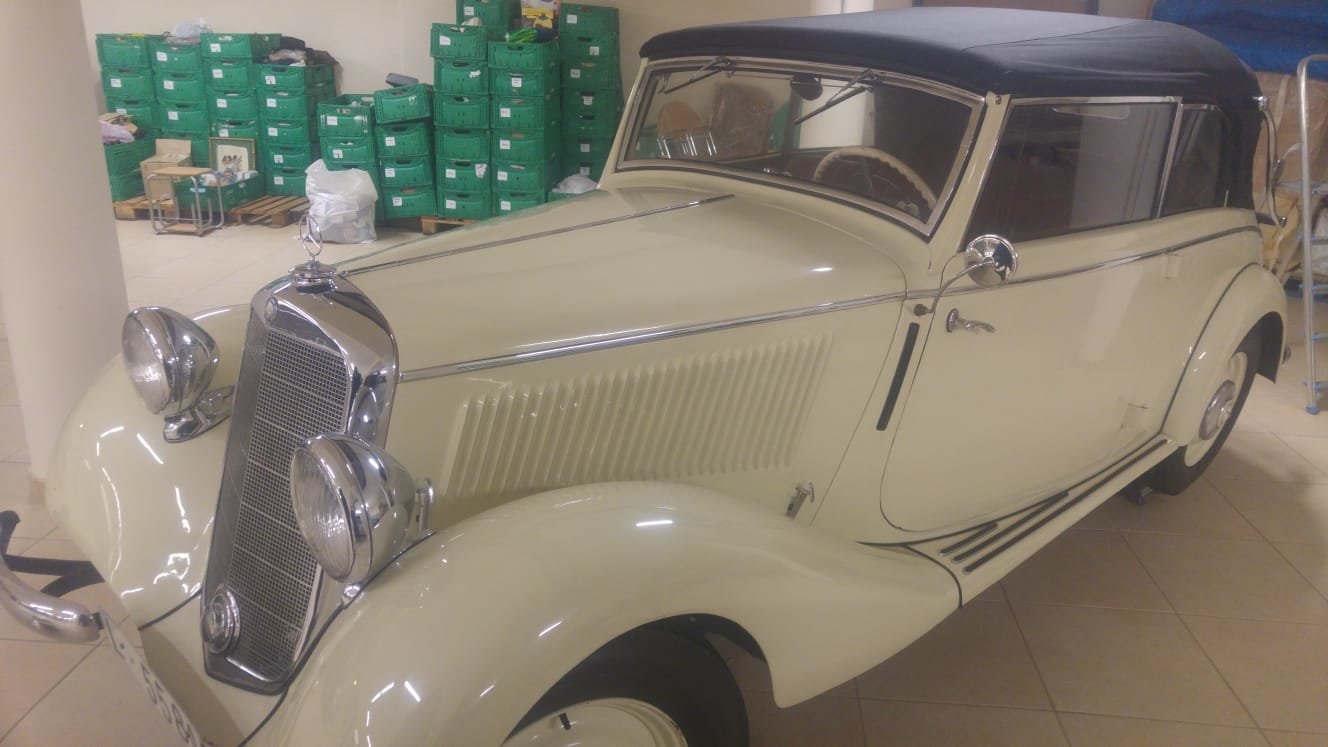 1936 Mercedes W136 v170 cabriolet b For Sale (picture 1 of 6)