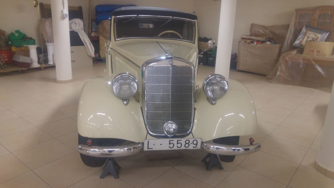 1936 Mercedes W136 v170 cabriolet b For Sale (picture 2 of 6)